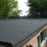 before and after flat roof
