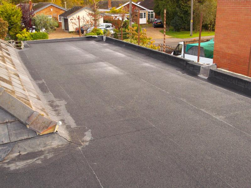 flat roof in cambridge